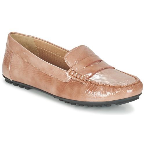 Geox D LEELYAN B Beige  Schuhe Slipper Damen 87,20
