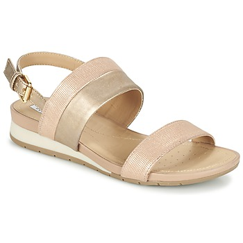 Schuhe Damen Sandalen / Sandaletten Geox D FORMOSA C Rose / Gold