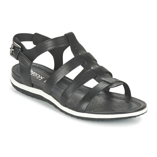 Geox D SAND.VEGA A Schwarz Schuhe Sandalen / Sandaletten Damen 67,99