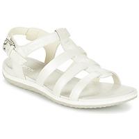 Schuhe Damen Sandalen / Sandaletten Geox D SAND.VEGA A Weiss