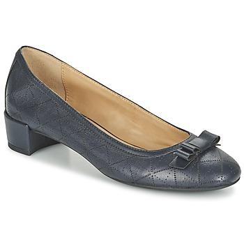 Schuhe Damen Ballerinas Geox D CAREY A Marine