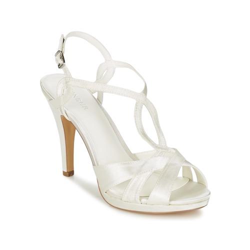 Menbur AMPARO Creme  Schuhe Sandalen / Sandaletten Damen 66,96