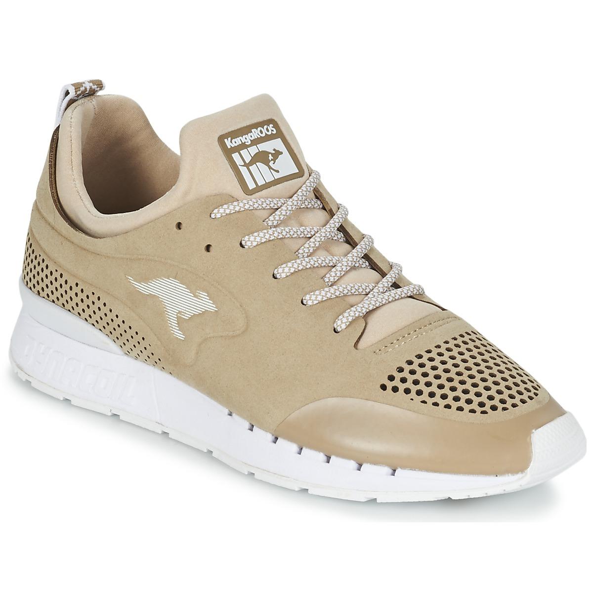Kangaroos COIL 20 MONO Beige - Kostenloser Versand bei Spartoode ! - Schuhe Sneaker Low  79,99 €