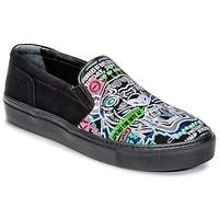Schuhe Damen Slip on Kenzo K-SKATE Schwarz
