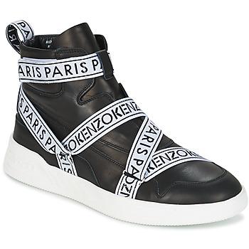 Schuhe Herren Sneaker High Kenzo CALVIN Schwarz