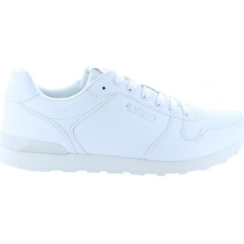 Schuhe Herren Sneaker Low Bass3d 40098 Blanco
