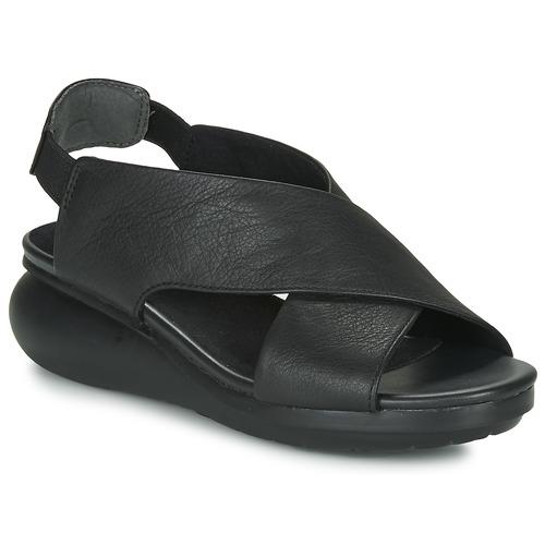 Camper BALLOON Schwarz  Schuhe Sandalen / Sandaletten Damen 125