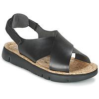 Schuhe Damen Sandalen / Sandaletten Camper ORUGA Schwarz