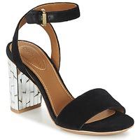Schuhe Damen Sandalen / Sandaletten See by Chloé SB28001 Schwarz