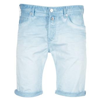 Kleidung Herren Shorts / Bermudas Replay RBJ901 Blau / Türkis