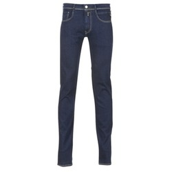 Kleidung Herren Slim Fit Jeans Replay WOUAPO Blau