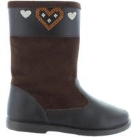 Schuhe Mädchen Klassische Stiefel Garatti AN0088 Marr?n