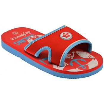 Schuhe Kinder Pantoffel De Fonseca Mastro Fascia pantoletten hausschuhe Rot