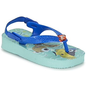 Schuhe Kinder Zehensandalen Havaianas BABY DISNEY CUTIES Blau