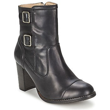 Schuhe Damen Low Boots Kickers MEDIX Schwarz