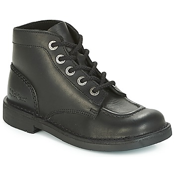 Schuhe Damen Boots Kickers KICK COL PERM Schwarz