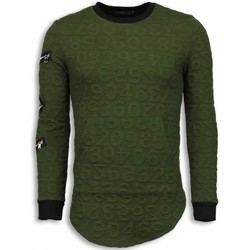 Kleidung Herren Sweatshirts Justing D Numbered Pocket Long Grün