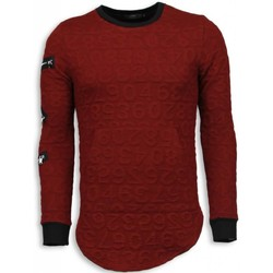 Kleidung Herren Sweatshirts Justing D Numbered Pocket Long Rot