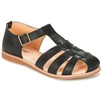 Schuhe Damen Sandalen / Sandaletten Kavat LOTTA Schwarz