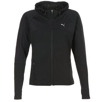 Kleidung Damen Sweatshirts Puma TRANSITION JKT Schwarz
