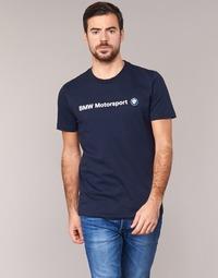Kleidung Herren T-Shirts Puma BMW MSP LOGO TEE Marine