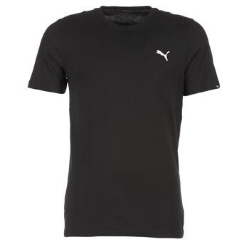 Kleidung Herren T-Shirts Puma ESS TEE Schwarz