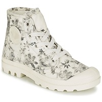 Schuhe Damen Boots Palladium US PAMPA HI F Naturfarben