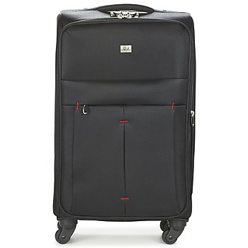 Taschen flexibler Koffer David Jones JAVESKA 76L Schwarz