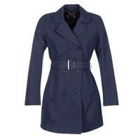 Kleidung Damen Trenchcoats Geox CREM Marine