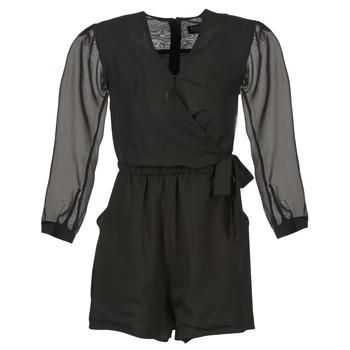 Kleidung Damen Overalls / Latzhosen Eleven Paris CAKE Schwarz