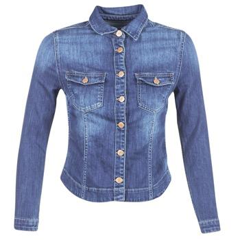 Kleidung Damen Jeansjacken Le Temps des Cerises LILLYM Blau
