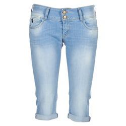 Kleidung Damen 3/4 & 7/8 Jeans Le Temps des Cerises CHRISTIA Blau
