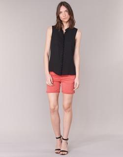 Kleidung Damen Shorts / Bermudas Le Temps des Cerises JANKA Korallenrot