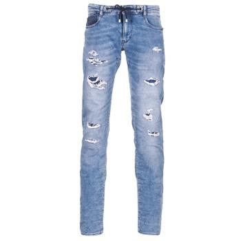 Kleidung Herren Slim Fit Jeans Le Temps des Cerises 711 JOGG Blau