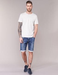 Kleidung Herren Shorts / Bermudas Le Temps des Cerises JOGG SHORT Blau