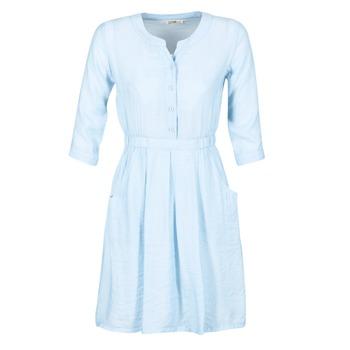 Kleidung Damen Kurze Kleider Molly Bracken BLECH Blau
