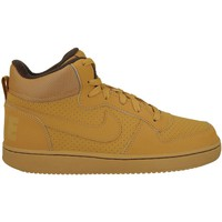 Schuhe Kinder Sneaker High Nike Court Borough Mid GS Braun