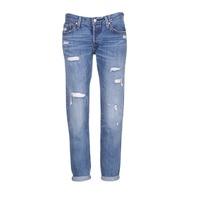 Kleidung Damen Boyfriend Jeans Levi's 501 CT RADIO / Star