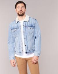 Kleidung Herren Jeansjacken Levi's TYPE 3 SHERPA TRUCKER