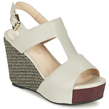 Schuhe Damen Sandalen / Sandaletten Café Noir CHANVIO Beige
