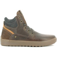 Schuhe Herren Sneaker High Wrangler WM162010 Turnschuhe Man Dark brown Dark brown