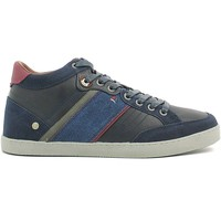 Schuhe Herren Sneaker High Wrangler WM162101 Shoes with laces Man Navy