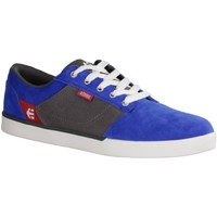 Schuhe Damen Sneaker Low Etnies Jefferson- Kinderschuhe Teens Jungs Gr. 35 - 42, Blau, leder / 534