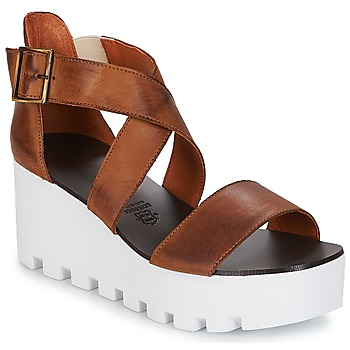 Schuhe Damen Sandalen / Sandaletten Sweet Lemon SUBWAY Braun