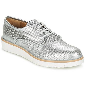 Schuhe Damen Derby-Schuhe Sweet Lemon NIKOLI Silbern