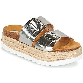 Schuhe Damen Pantoffel Sweet Lemon IRIS Silbern