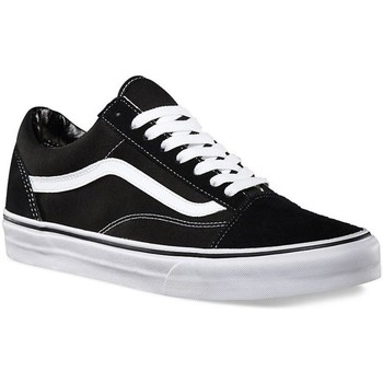 Schuhe Herren Sneaker Low Vans ZAPATILLAS  U OLD SKOOL Schwarz