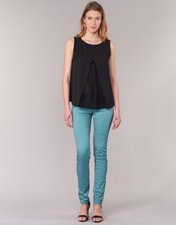Kleidung Damen 5-Pocket-Hosen Les P'tites Bombes BEMBRELA Blau