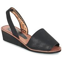 Schuhe Damen Sandalen / Sandaletten Spot on MELOPE Schwarz