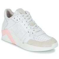 Schuhe Damen Sneaker High Serafini CHICAGO Weiss / Rose